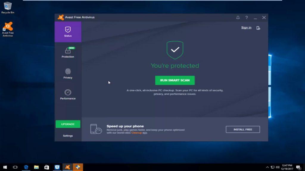 Avast Antivirus For PC
